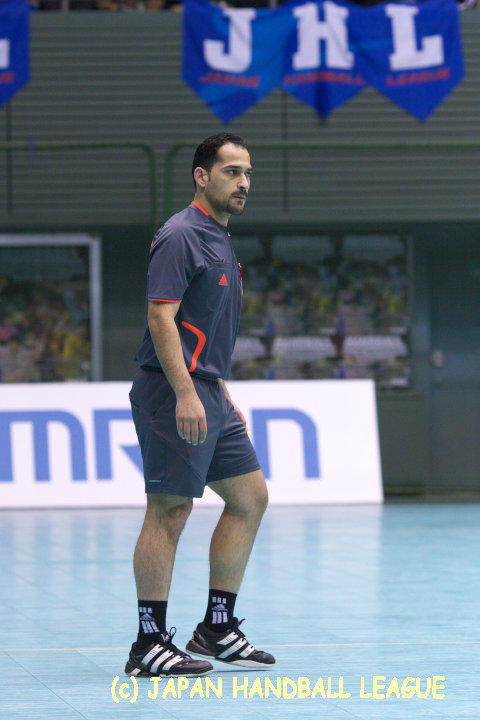 Referee Ahmad Al Mutaw'a